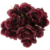 Burgundy Rose Bush