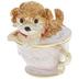 Dog In Teacup Jewelry Box