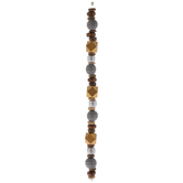 Irregular Wood Bead Strand