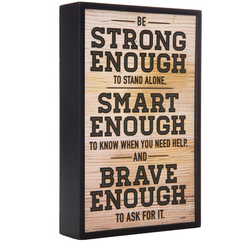 Strong Enough Wood Decor