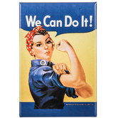Rosie The Riveter Magnet