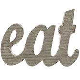 Eat Metal Wall Decor