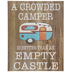 A Crowded Camper Wood Decor