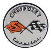 Chevrolet Corvette Round Magnet