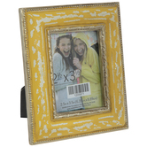 "Distressed Yellow Frame - 2 1/2"" x 3 1/2"""