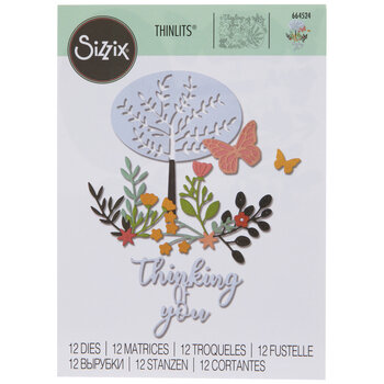 Sizzix Thinlits Thinking Of You Tree Dies