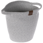 Gray Fabric Basket