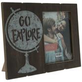 "Go Explore Wood Frame - 5"" x 7"""