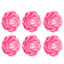 Pink Flowers 3D Adhesive Wall Art - Small