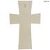 Squared Baltic Birch Wood Wall Cross - Medium