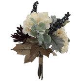 Mum, Hydrangea & Berry Bouquet