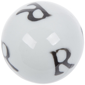 Mini Letter Decorative Sphere - R