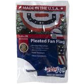 American Pleated Fan Flag