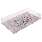 Stay Wild Palm Leaves Tray