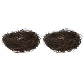 "Twig Bird Nests - 4"""