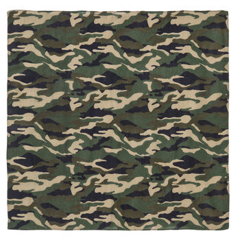 Green Camouflage Bandana