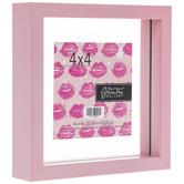 """Pink Float Frame - 4"""" x 4"""""""