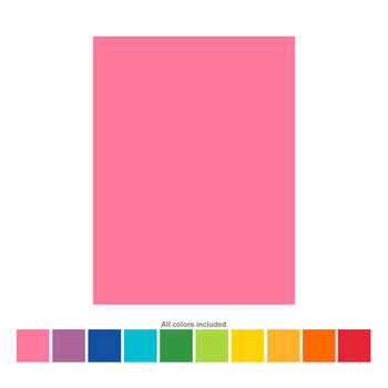 """Heavyweight Cardstock Paper Pack - 8 1/2"""" x 11"""""""