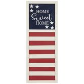 Home Sweet Home Shutter Wood Wall Decor