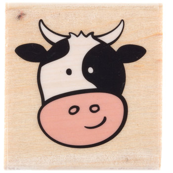 Corey Cow Rubber Stamp
