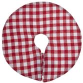 Red & White Gingham Mini Tree Skirt