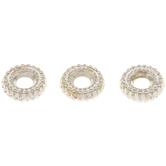 Corrugated Ring Beads