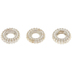 Corrugated Ring Beads - 7mm