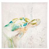 Watercolor Turtle Canvas Wall Decor