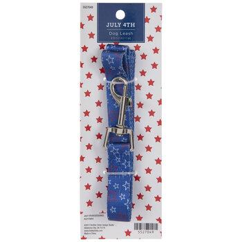 Blue Starry Dog Leash