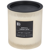 Maple & Cream Latte Jar Candle