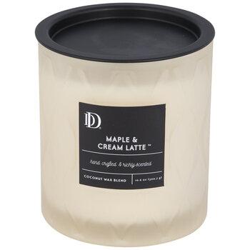 Maple & Cream Latte Jar Candle