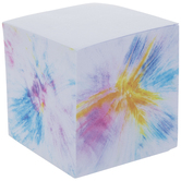 Blue, Pink & Yellow Tie Dye Notepad