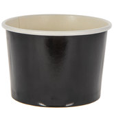 Black Paper Snack Cups