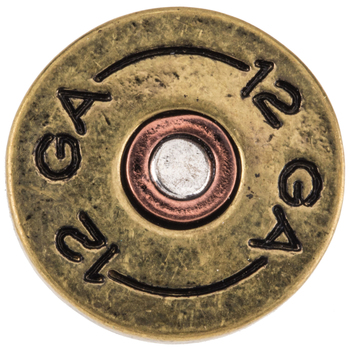 Shotgun Shell Snap Charm