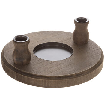 Brown Unity Candle Stand