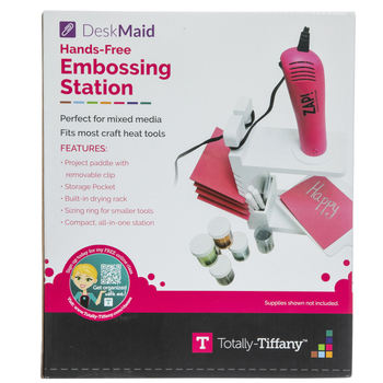 Hands Free Embossing Station