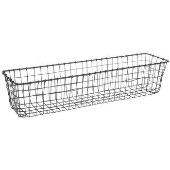 Narrow Wire Basket