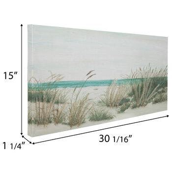 Seagrass Coast Canvas Wall Decor