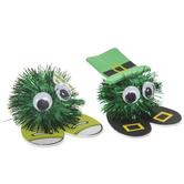 Green Pom Pom Buddies