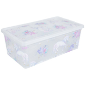 Unicorn & Flowers Container