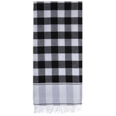 Black & White Buffalo Check Kitchen Towel