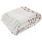 Striped Woven Throw Blanket