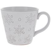 Textured Snowflakes Mug