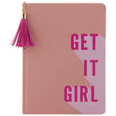 Get It Girl Lined Notebook