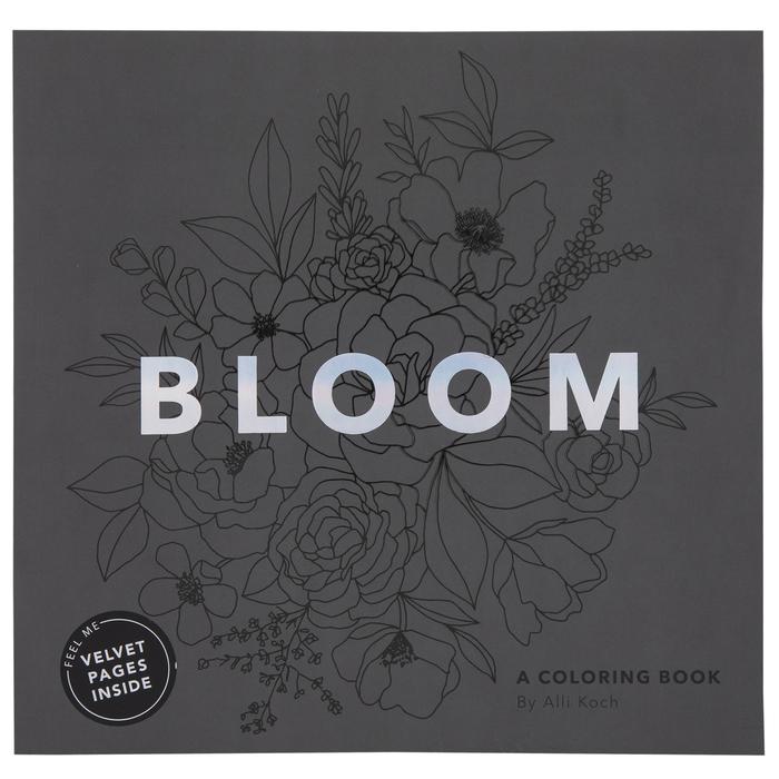 Bloom Velvet Coloring Book Hobby Lobby 1958909