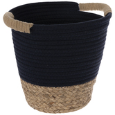 Navy & Brown Basket
