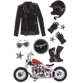 Motorcycling 3D Stickers