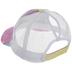 Bright Tie-Dye Mesh Baseball Cap