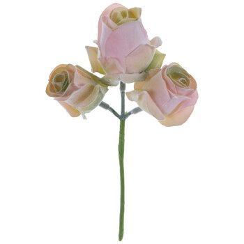 Pink & Green Rose Trio Pick