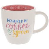 Powered By Coffee & Yarn Mug